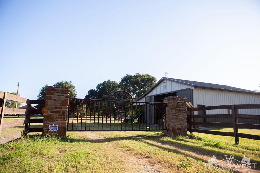 Custom Gate Design Trails West Gate Company