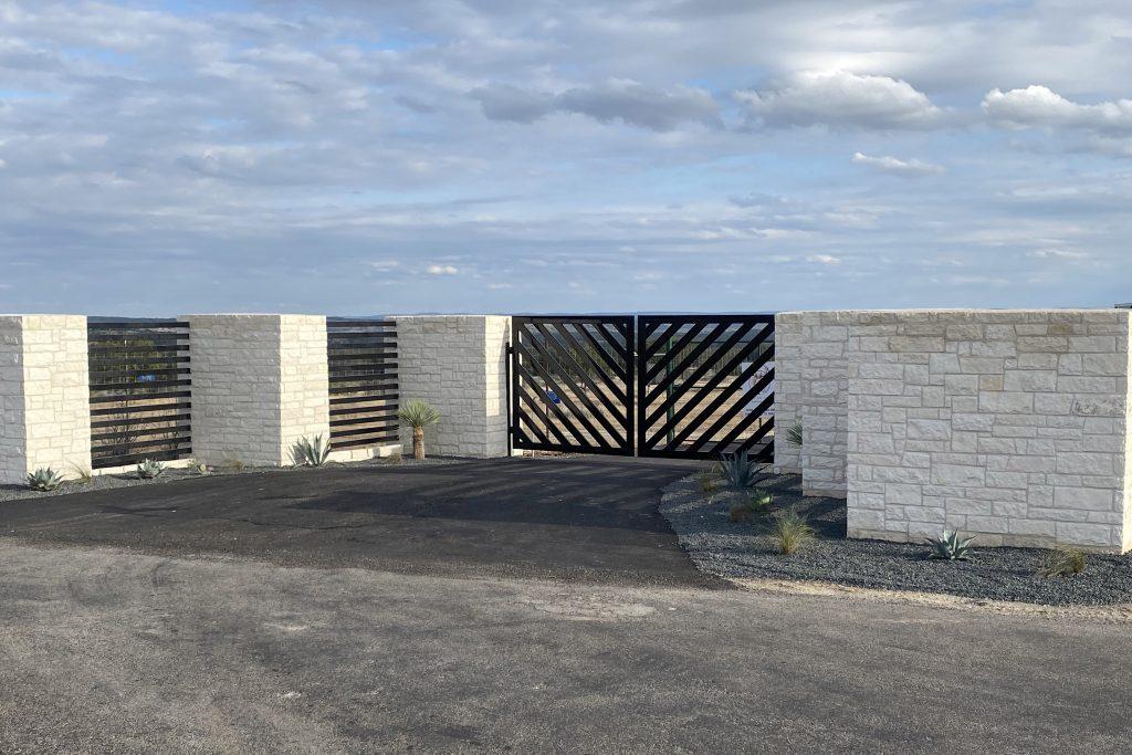 modern farm gate